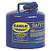 CAN SAFETY 5 GAL. BLUE TYPE I