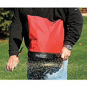 SHOULDE NYLON BAG SEEDER/SPREADER