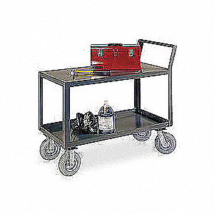 Utility Cart,Steel,36 Lx24 W,1200 lb.