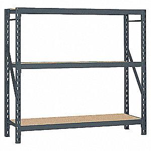 Edsal Storage Rack Bulk Starter 72x24x72 Bulk Storage