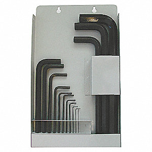 SET HEX KEY LONG MET BOX 14PC