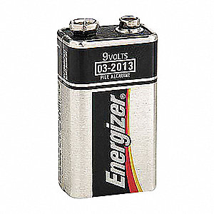 BATTERY ENERGIZER ALK 9.0V 2 PER PK