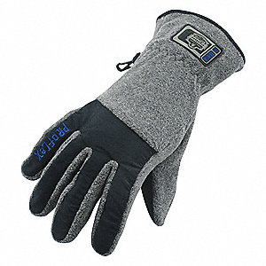 GLOVES 813 FLEECE UTILTIY BLACK L