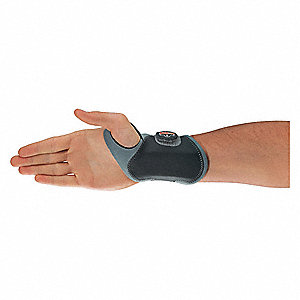 WRIST SUPPORT LIGHTWEIGHT GY RH XS/