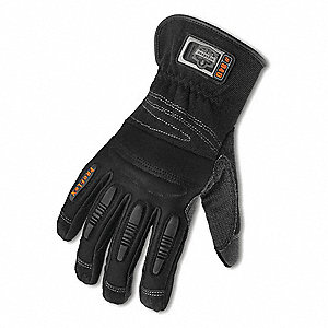 GLOVE MATERIAL HANDLING LEATHER-LRG