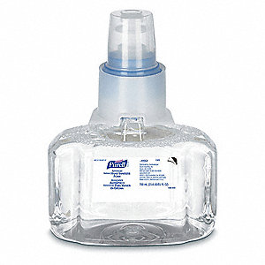 Hand Sanitizer,Cart. Refill,Liquid,PK3
