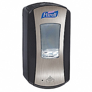 Hand Sanitizer Dispenser,1200mL,Black