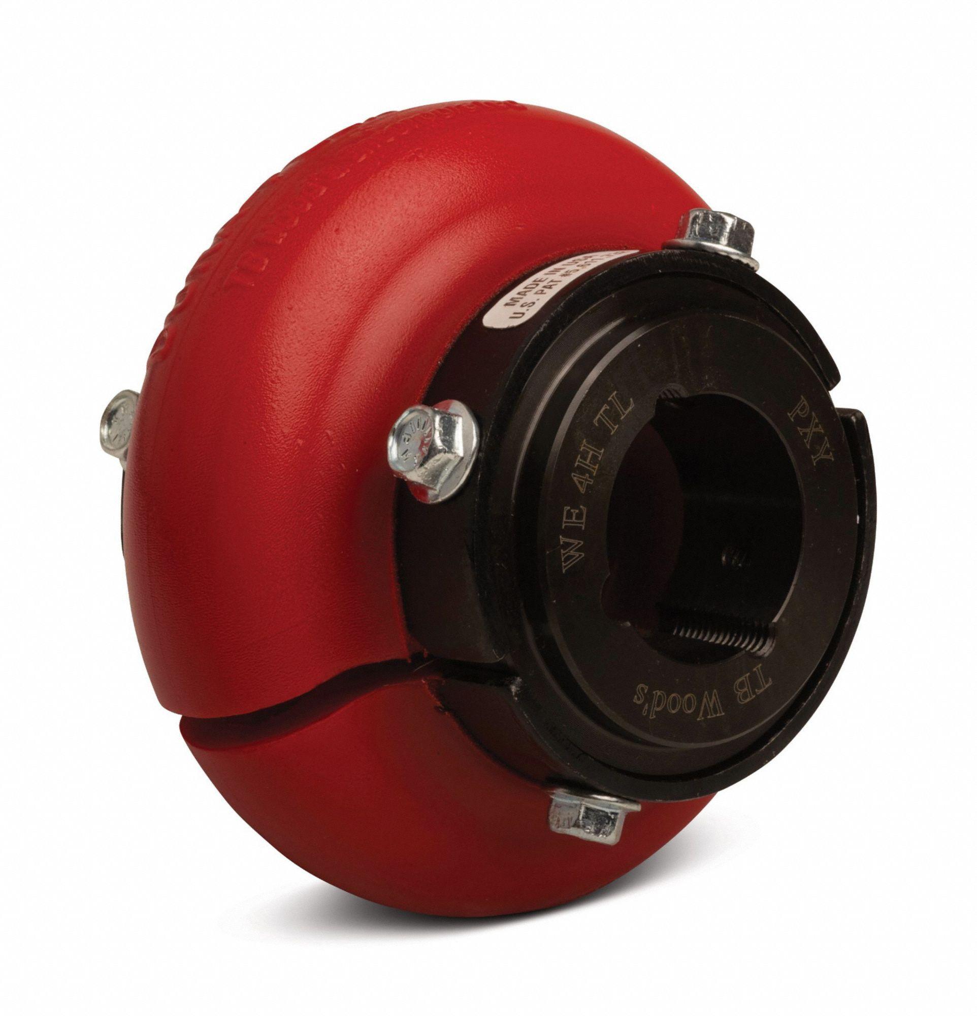 TB WOOD/'S Red Urethane Dura-Flex Tire Coupling Element WE4
