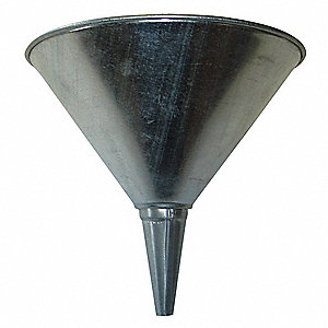 Funnel Strainer,Metal,8 In. Dia.