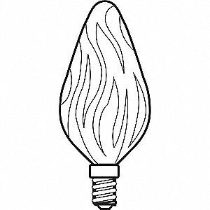 LAMP INCAND 15W 48395