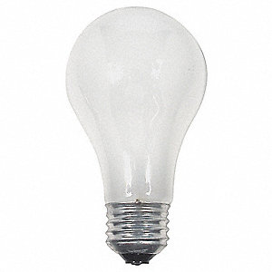LAMP HALOGEN 43W A19 WH 63003