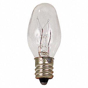 LAMP INCAND 4C7 CARD 2 120 43050