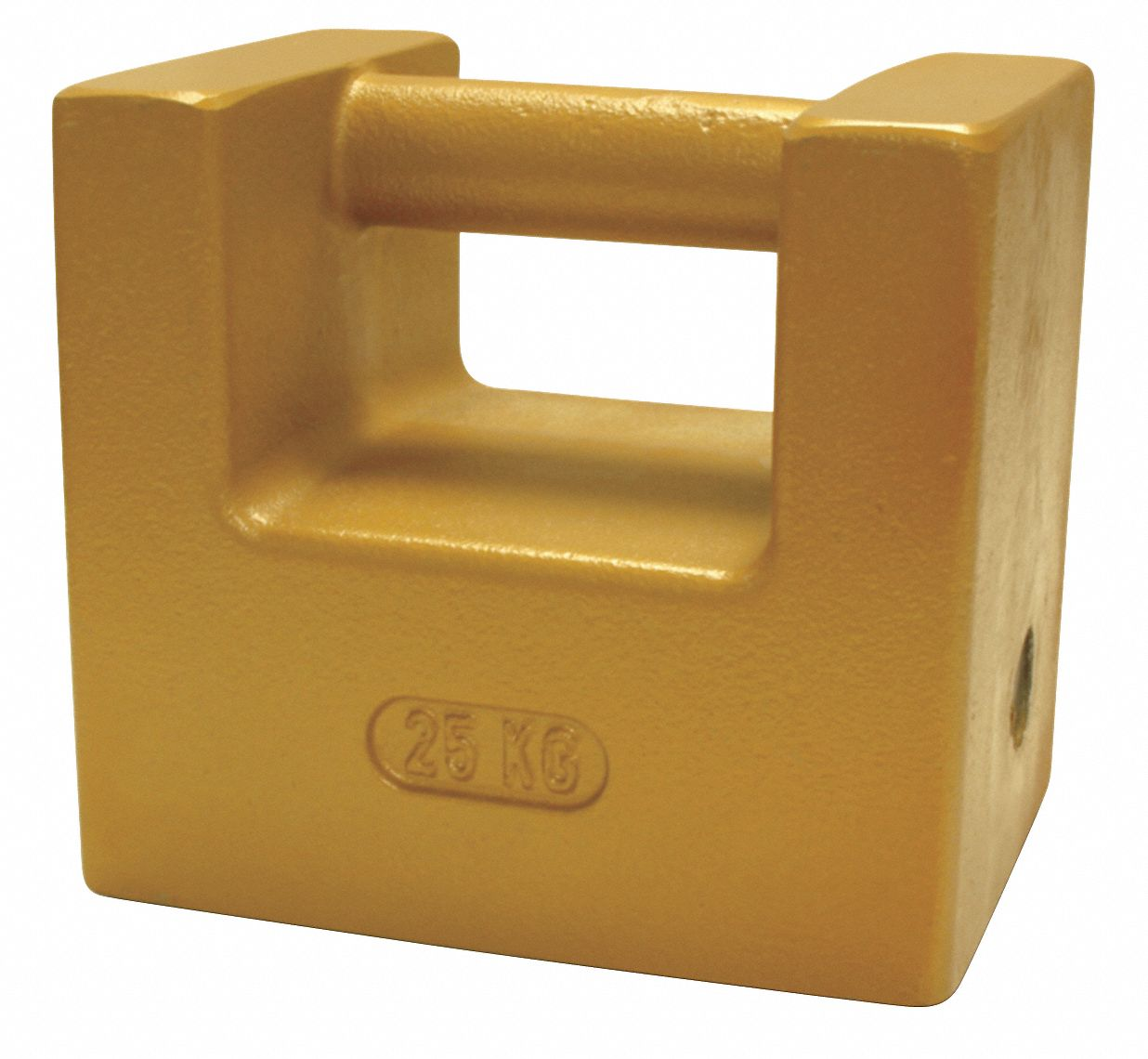 25kg Calibration Weight, Grip Handle Style, Class 6, No Certificate, Cast Iron