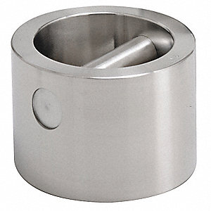 Calibration Weight,25kg,Satin