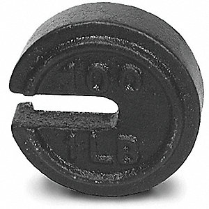 Calibration Weight,100 x 1 lb.,Painted