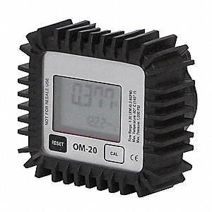 Digital Oil Meter, 0.30 to 8 GPM