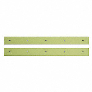 "Emergency Lighting - Photoluminescent, Solid, Strip, 2"" x 22"", 2 PK"