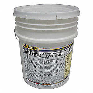 65 lb. Pail Concrete Mix, Black