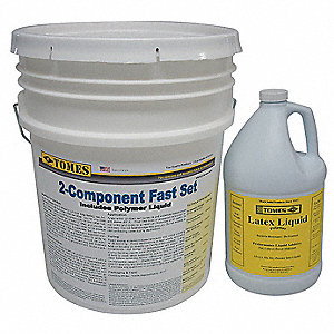 Gray Concrete Patch and Repair, 40 lb./1 gal. Size, Coverage: 10 sq. ft.