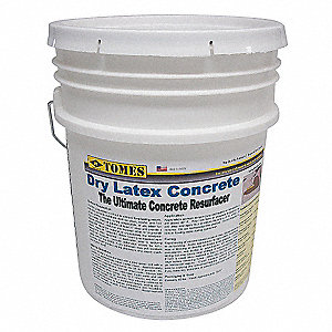 Gray Concrete Resurfacing Patch and Repair, 50 lb. Size, Coverage: 50 sq. ft. @1/8""