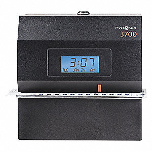 Time Clock and Document Stamp,Digital,