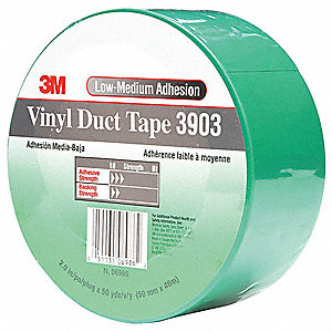 "50 yd. x 2"" Vinyl Duct Tape, Green"