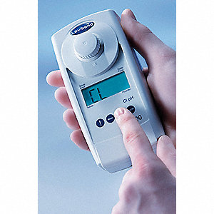 Colorimeter,  1-90 mg/L (Powder Reagents) Range,  ±1 nm, 3% Full Scale Accuracy,  LCD Display