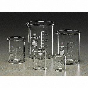 BEAKERS GLASS 5PK
