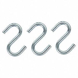 S HOOK STL HOOK OPNG 2/5 IN PK 20