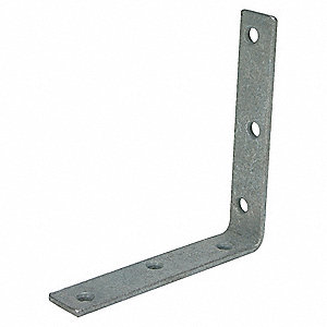 CORNER BRACE STEEL 1 1/4 WX8 IN L