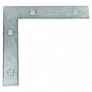 FLAT CORNER BRACE STEEL 7/8 IN W