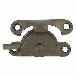WINDOW SASH LOCK BRONZE L 2 7/16 IN