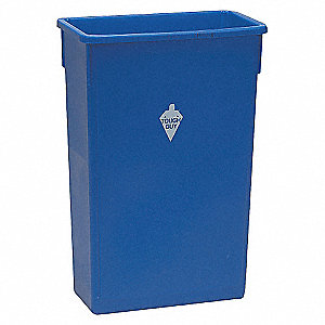 RECTANGULAR CONTAINER 23 G BLUE