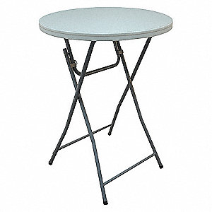 COCKTAIL TABLE, 42IN, RND, BLW MLD
