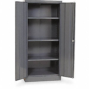 UNASSMBL STORAGE CAB STD GRAY