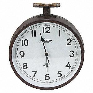 CLOCK ROUND ANALOG 11IN