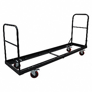 Folding Chair Cart,77x19-7/32,32 Chairs
