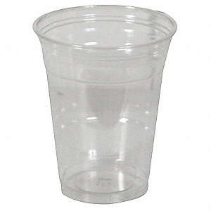 Disposable Cold Cup,14 oz.,Clear,PK1000
