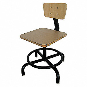 SQUARE PLYWOOD SEAT STOOL
