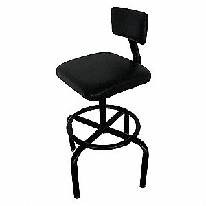 SQUARE PADDED SEAT STOOL