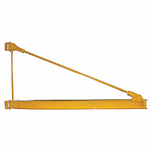 JIB CRANE, MNTD,TOP SUPPRT,2200LB,1