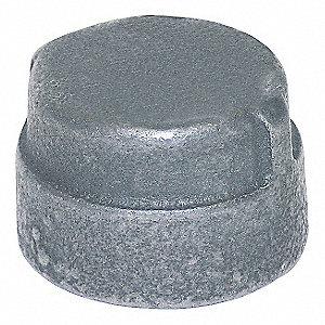 CAP GALV MALLBL IRON 300 PSI 3/8 IN