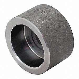 CAP 3/8 IN SOCKET WELD BLACK STEEL