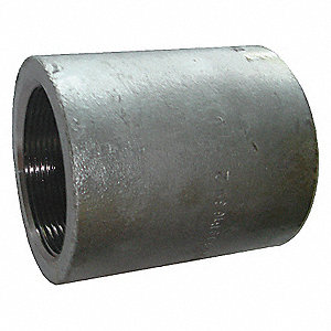 COUPLING 3/8 IN GALVANIZED IRON