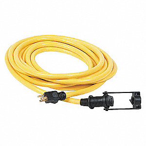 CORD EXTENSION E-Z LOCK 10/3 100FT