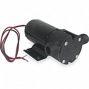 PUMP PLASTIC 1/12 HP 12VDC 7.5
