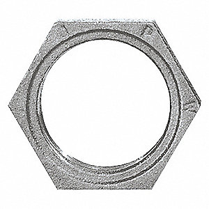 HEX LOCKNUT 2 IN GALVANIZED