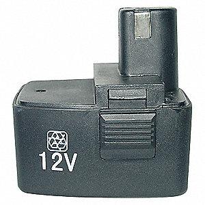 CORDLESS BATTERY,12 V,USE W/ 1VUC1