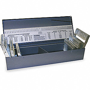 DRILL SET,HSS,PAINTED,0