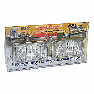 FOG LAMPS PER-LUX S/S CLEAR